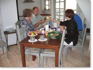 Spisebord hos Tyklundgaard